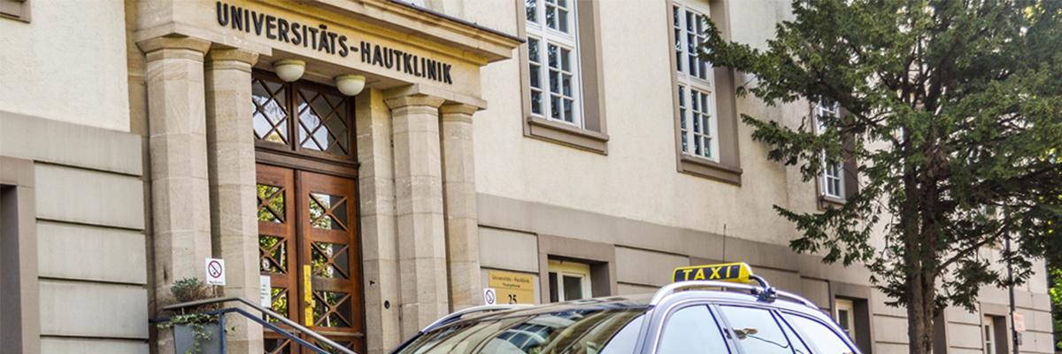 Krankenfahrten Tübingen und Rottenburg - Taxi Birlinger